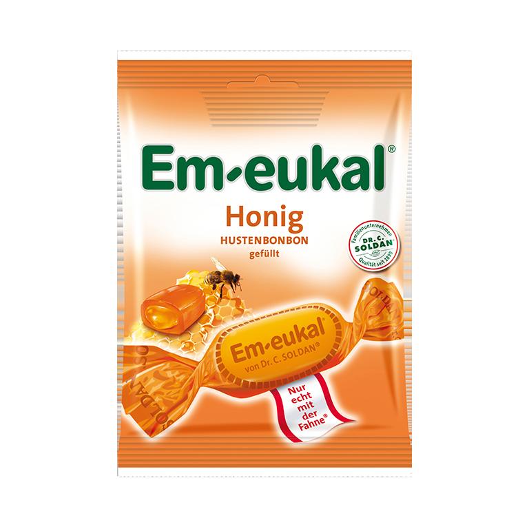 Em-eukal Honig gefüllt
