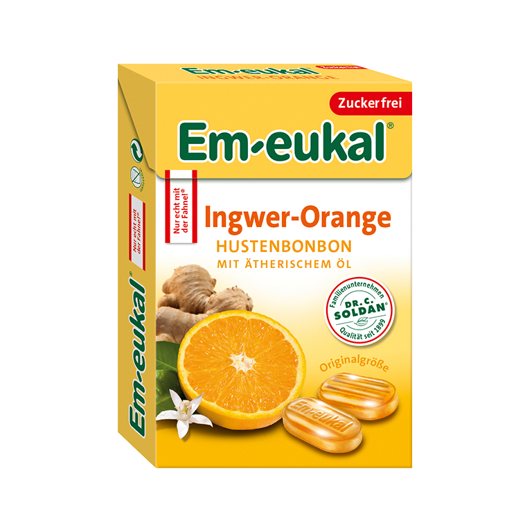 Em-eukal Ingwer-Orange Box