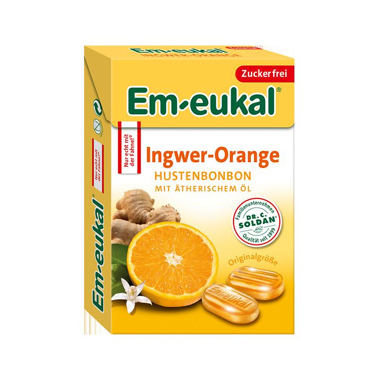 Em-eukal Ingwer-Orange Box