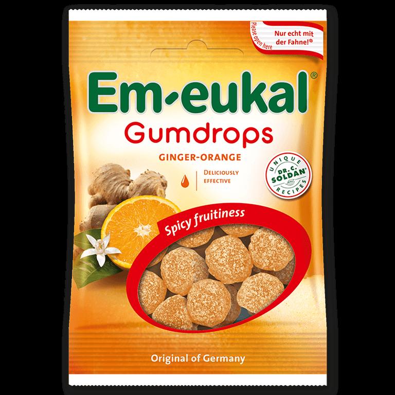 Em-eukal  Gumdrops GINGER-ORANGE