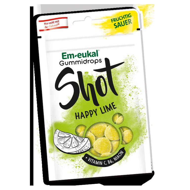 Em-eukal Gummidrops Shot Happy Lime