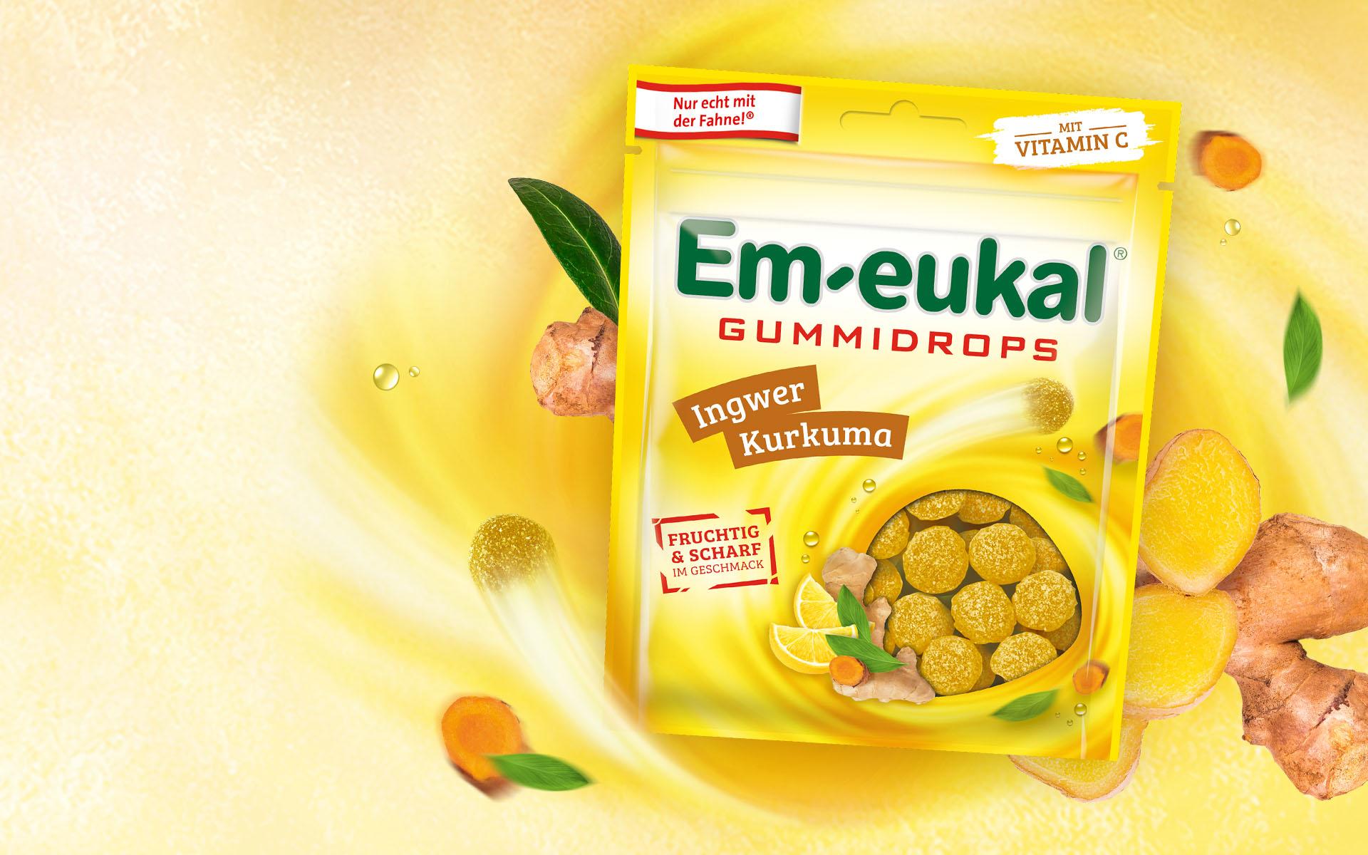 Em-eukal Gummidrops Inger Shot
