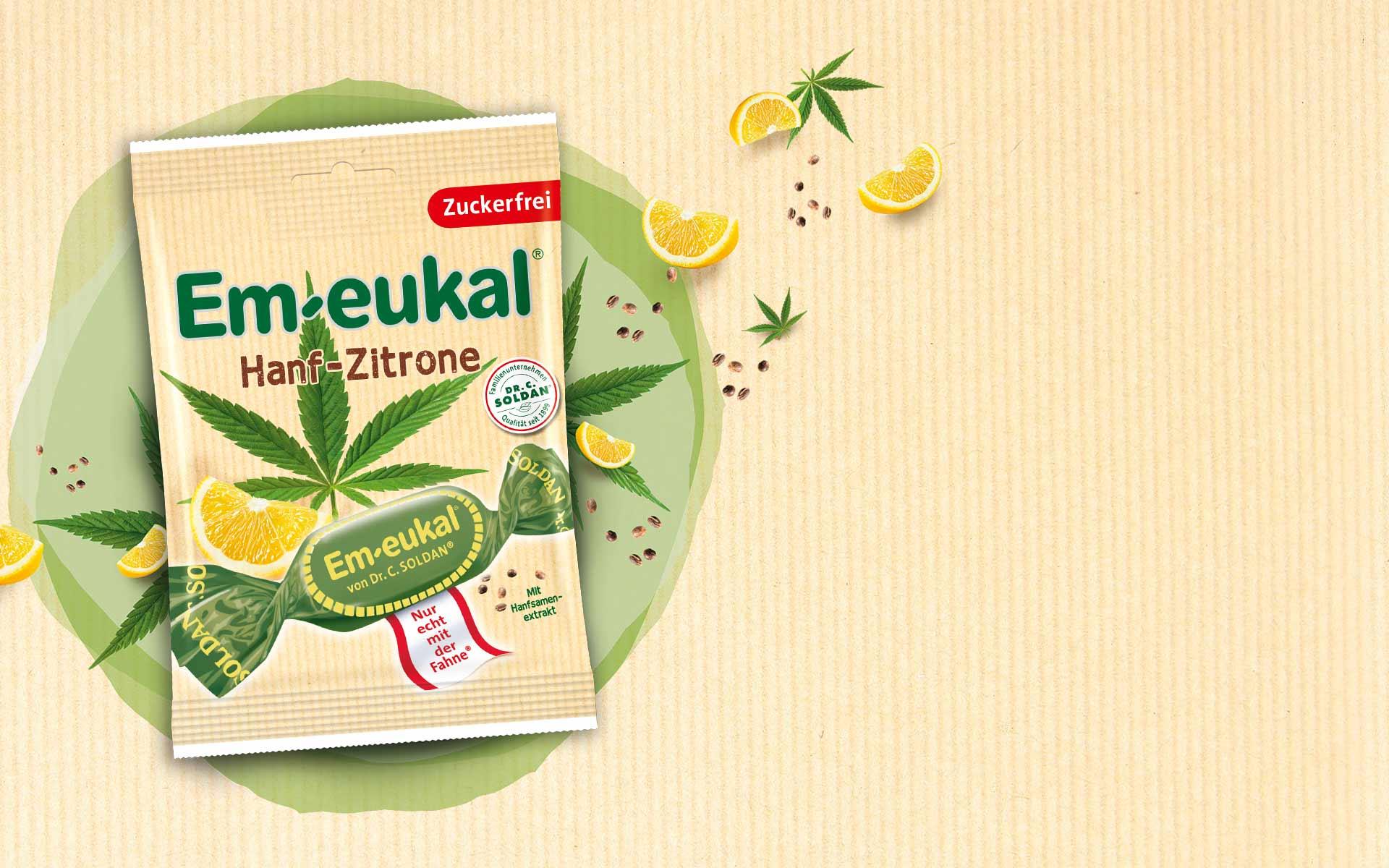 Em-eukal Hanf Zitrone Stimmungsbild